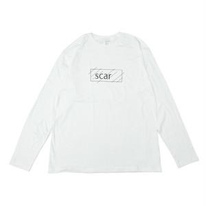 scar /////// OG L/S TEE (White) 3.8oz