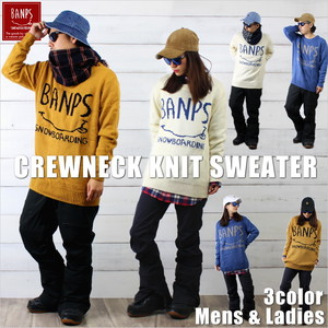 CREWNECK KNIT SWEATER bp-103