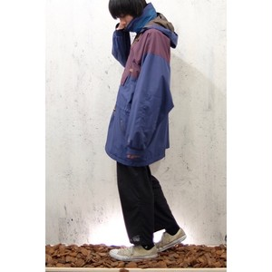 nylon big anorak