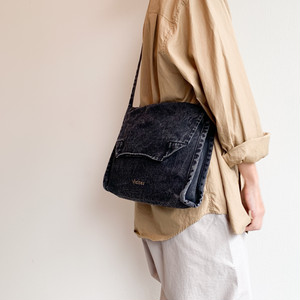 VISITOR BAG - BLACK DENIM
