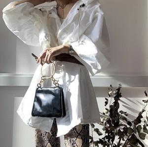 Vintage Ferragamo リングハンドルバッグ