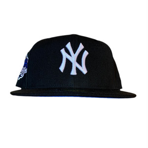 NEW ERA New York Yankees 1996 World Series 59Fifty Fitted / Black×Blue×White (Blue Brim)