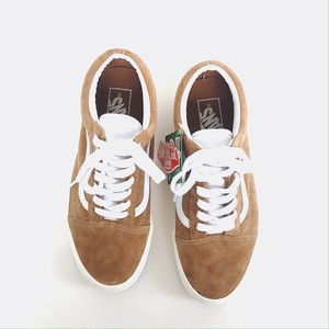 VANS ( Vans Old Skool (P.SUEDE)BROWN )