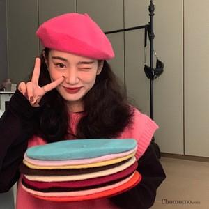 【小物】無地カジュアル合わせやすい人気帽子25539968