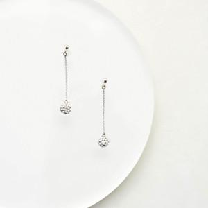 Swarovski Crystal Ball chain Pierces