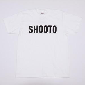 SHOOTO LOGO DRY TEE(WHT)