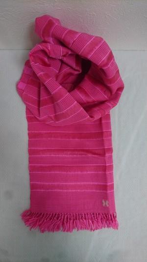 幸せの国ブータンから Jarim Rose (ジャリム ローズ) ブータン手織りスカーフ ANA by KARMA