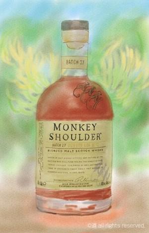 MONKEY SHOULDER(ジクレーA3プリント)