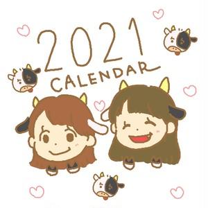 Yes Happy!2021 カレンダー