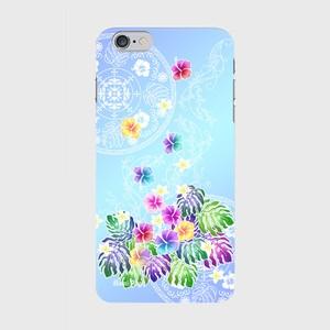 【iPhone6Plus/6sPlus】 Rainbow Paradise レインボー・パラダイス ツヤありハード型スマホケース