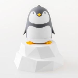 インテリアになるペンギンさんのドライバーセット(グレー) (A00009)