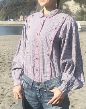 blouse / check