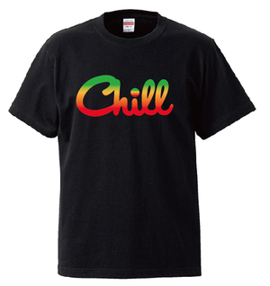 Chill  T-Shirts / 別注UNITE9 RASTA COLOR