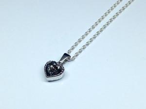 隕石ネックレス(シルバー・ハート)
