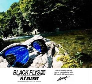 【送料無料】【限定アイテム】【ご予約受付2/1(木)AM10:00より:4月中旬入荷予定】フライブレイキー/FLY BLEAKY 【LAHM別注モデル】ブラックフライズ/BLACK FLYS