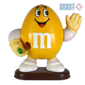 M&M's ディスペンサー イエロー 緑チョコ持ち エムアンドエムズ