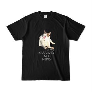 【2/20発売】「YABAIKAONONEKO」Tシャツ[黒]
