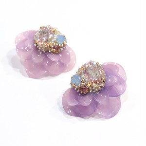 【ピアス.6】phantomFLOWER crystal