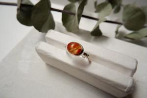 Corda ring(モスアゲート)