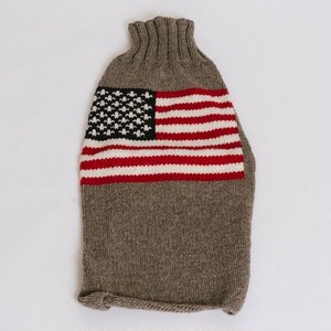 Chilly Dog (チリードッグ)  American Flag Dog Sweater【2XS〜2XL】