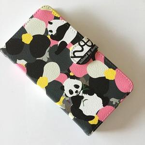 手帳型スマホケース~パンダ~