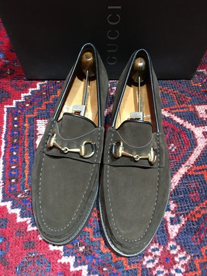 .GUCCI LEATHER HORSE BIT LOAFER MADE IN ITALY/グッチレザーホースビットローファー 2000000033532