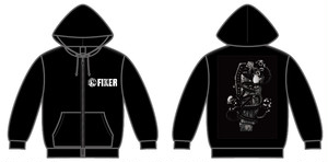 FIXER / MEMENTO MORI パーカー