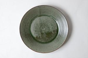[田中 大喜]  緑釉 段皿(大)