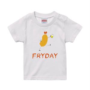 【キッズ】エビフライディ プリントTシャツ