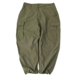 WIDE CARGO PANTS【OLIVE】
