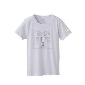 SR-016-WT:スタンダードTシャツ 4.7oz (スクエアロゴ)(ホワイト)
