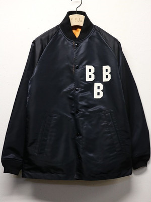 "SUNNY SPORTS / サニースポーツ | 【SALE!!!】 "" NLBM COACHES JACKET "" BBB-BLACK"