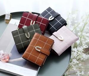 レディースファッション 財布 かわいい カードケース 小銭いれ おしゃれ 皮 シンプル カジュアル 小物 折りたたみ財布★02884