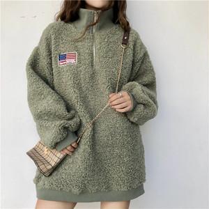 秋と冬モコモコふわふわ暖かいセーター