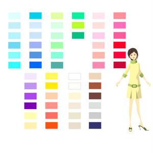 ベストカラーサンプルカード(デジタル版)