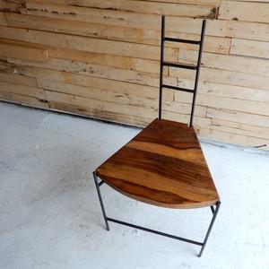 鉄と木のイチョウチェア タイプA