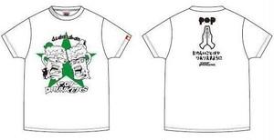 PUNK DRUNKERS×P.O.P 限定コラボシャツ(ホワイト)