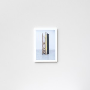 Composition With Yellow Verticals by Mark Manders