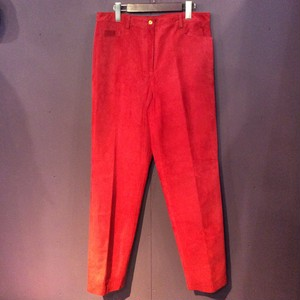 red leather pants [B1754]