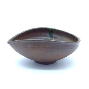 穴窯 薪窯焼締 酒器 片口 B-0009