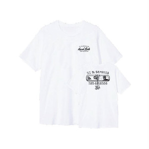 HARD LUCK - DEMONIO TEE (White)