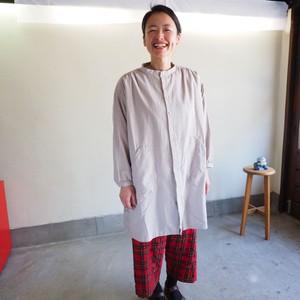 コットン WOOLビエラ アトリエ長袖シャツ 03S10 サイズ2