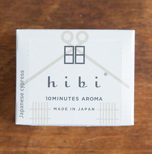 hibi 10MINUTES AROMA 和の香りラージボックス