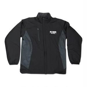 裏フリースジャケット「crest」(ブラック/NJ-006)