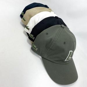 ラコステ Lイニシャル キャップ L1086 LACOSTE 日本製