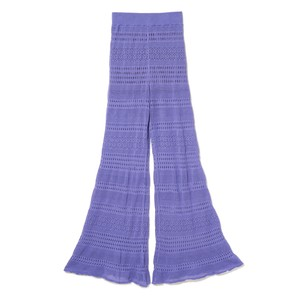 Lace Bell Bottoms - PURPLE