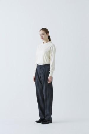 Winter Stripe Relax Trousers