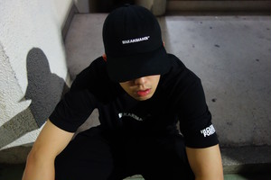 WAKARIMASEN 6PANEL CAP (MIYACHI x CRASTY)