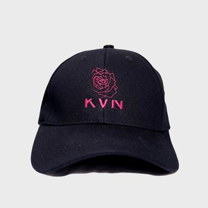 """Half Rose""Cap(red)"