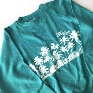 Hanes : 80's print sweat shirt (used)